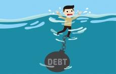 债台高筑,美国企业债务违约正在攀升