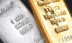 白银或重新测试14.84支撑,黄金沿c浪继续下探