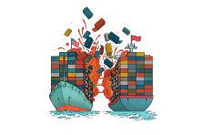 1月份中国出口激增,但与美贸易出现大幅下滑