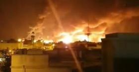 沙特石油设施遭袭,原油大幅高开超10%