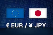 欧元兑日元受阻回落,未来或跌至114.85附近