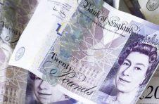 英镑兑美元持续走低,关注下方1.2645/50支撑