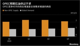 OPEC:预期石油在明年初处于供应过剩状态