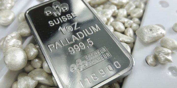 钯金成最贵金属,关注下半年供需面变化-图表家