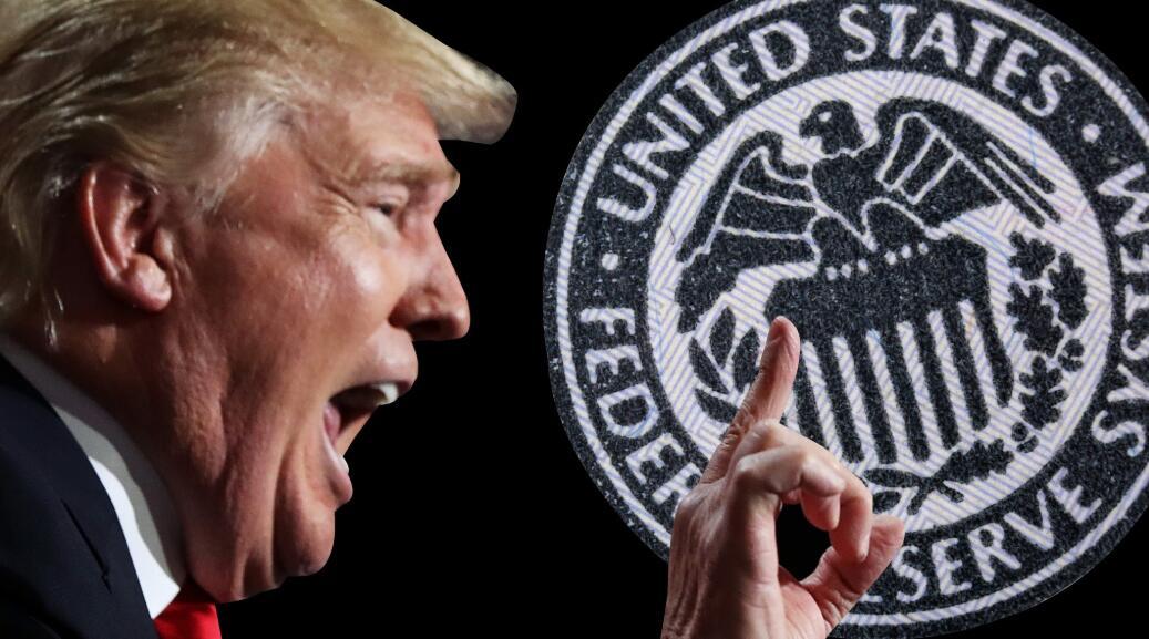特朗普终于如愿以偿,但美联储谨慎的原因可能仍会令他不高兴-图表家